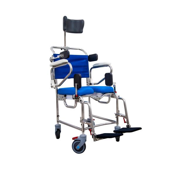 Attendant Propelled Rehab Shower Commode