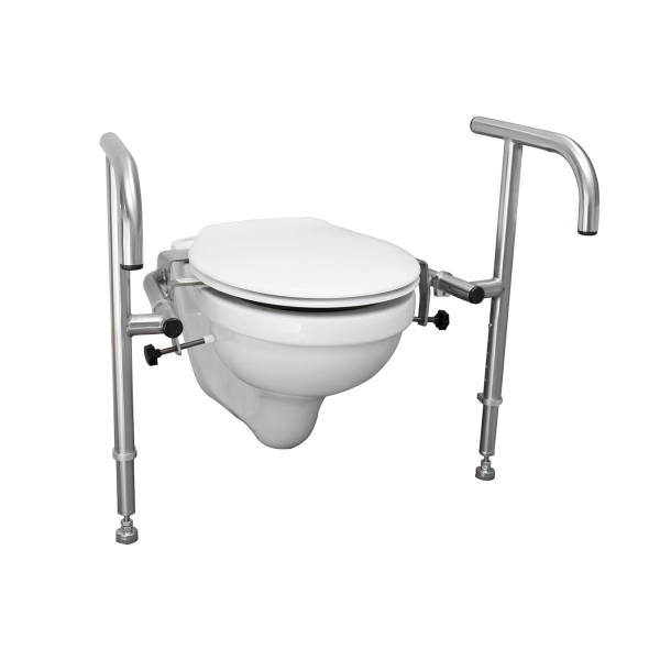 Throne Bariatric Toilet Support Rail