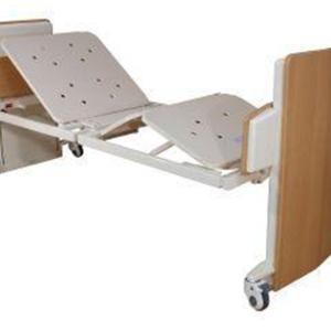 K Care Healthcare Equipment Capri 4 Section Folding Floorline Bed