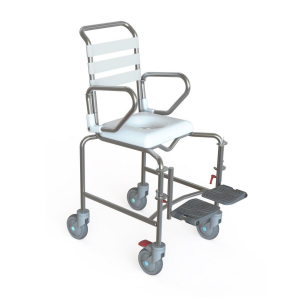 K-Care Child Mobile Shower Commode Push Chair - Attendant Propelled