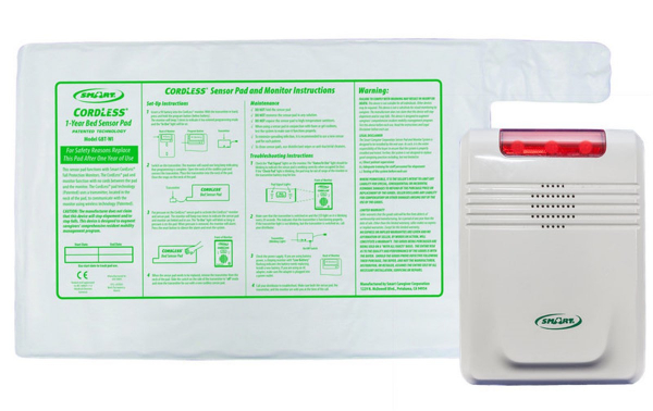 Complete Bed Exit Monitoring Kit - Cordless