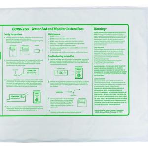 Cordless Bed Exit Sensor Pad