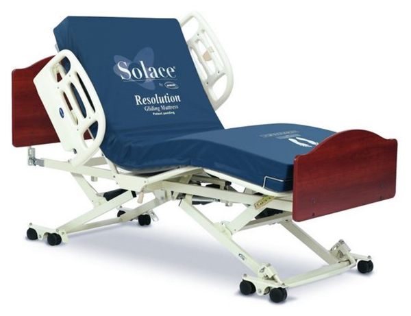 Invacare CS7 Wide Deck Hospital Bed