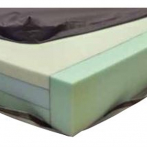 Invacare Deluxe 3-Core Pressure Relieving Mattress with Strengthened Sides