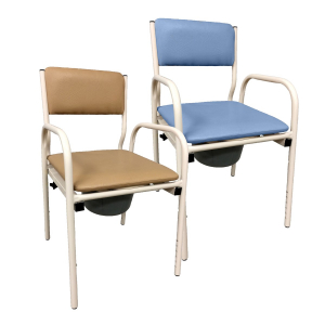 R & R Healthcare Equipment Economy Bedside Commode Chair