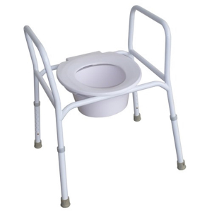 R & R Healthcare Equipment Economy Over Toilet Commode Frame