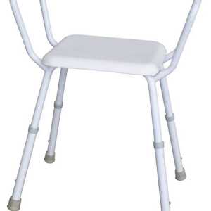 R & R Healthcare Equipment Economy Shower Stool Plastic Seat