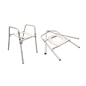 K Care Healthcare Equipment Folding Over Toilet Aid