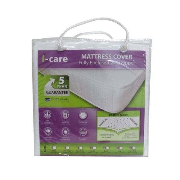 I-Care Fully Encased Mattress Protector