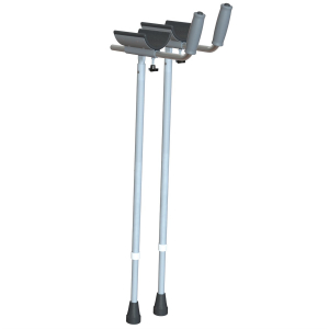 K Care Healthcare Equipment Gutter Crutch