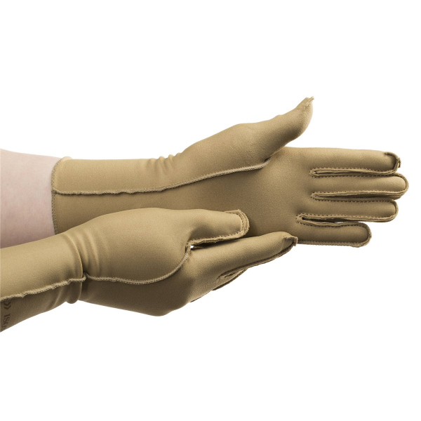 Patterson Medical Isotoner Therapeutic Compression Gloves Full Finger Pair