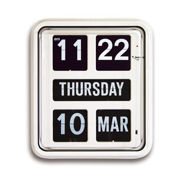Jadco Day of the Week Calendar Clock