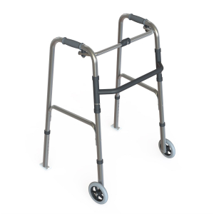 K Care Healthcare Equipment Folding Walking Frame Adjustable Height