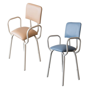 R & R Healthcare Equipment Kitchen Stool with Arms