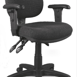 Mackay Low Back Clerical Chair with Adjustable Arms