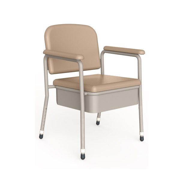 K Care Healthcare Equipment Maxi Deluxe Bedside Commode