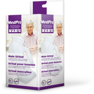 MedPro Male Urinal Bottle with Lid