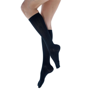 Venosan Micro Fibre Black Socks for Women