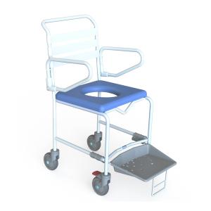 K-Care Mobile Shower Commode - Push Chair - Attendant Propelled KA112Z