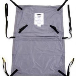 Oxford Long Seat Sling Polyester Commode Complete