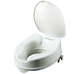 Peak Care Toilet Seat Raiser with Lid