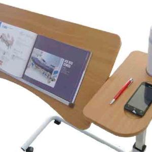 Peak Split Table-Top Overbed Table