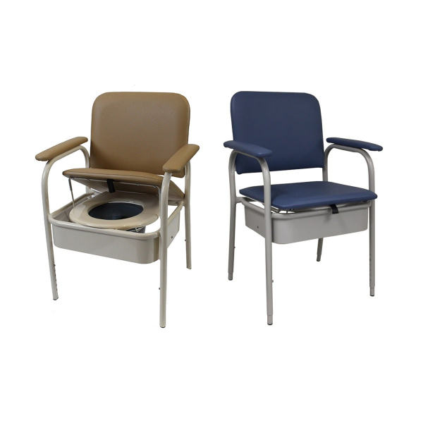 R & R Healthcare Equipment Premium Deluxe Bedside Commode