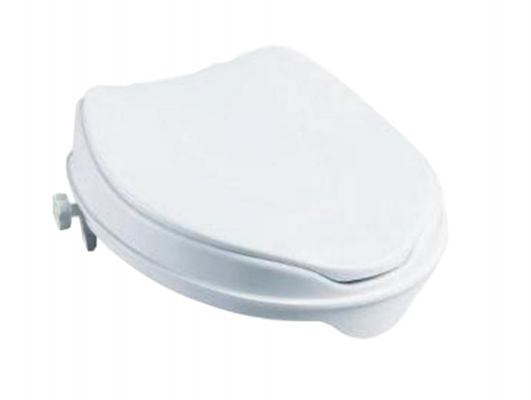 K Care Healthcare Equipment Raised Toilet Seat with Lid
