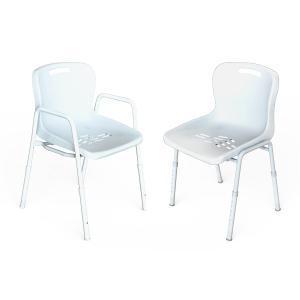 K Care Healthcare Equipment Shower Chair Steel Zinc Plastic Seat