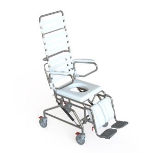 K Care Healthcare Equipment Shower Commode Attendant Tilt In Space Side Opening