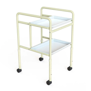 K Care Healthcare Equipment Tray Mobile Double
